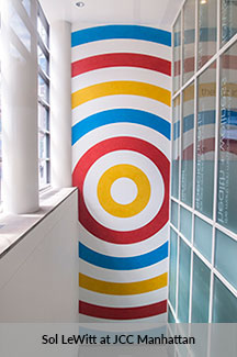 Sol LeWitt at JCC Manhattan
