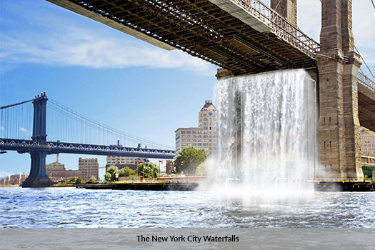 The New York City Waterfalls